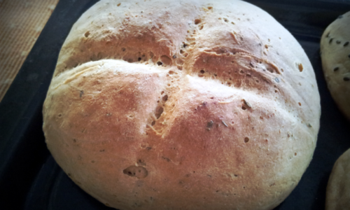 One of the breads made