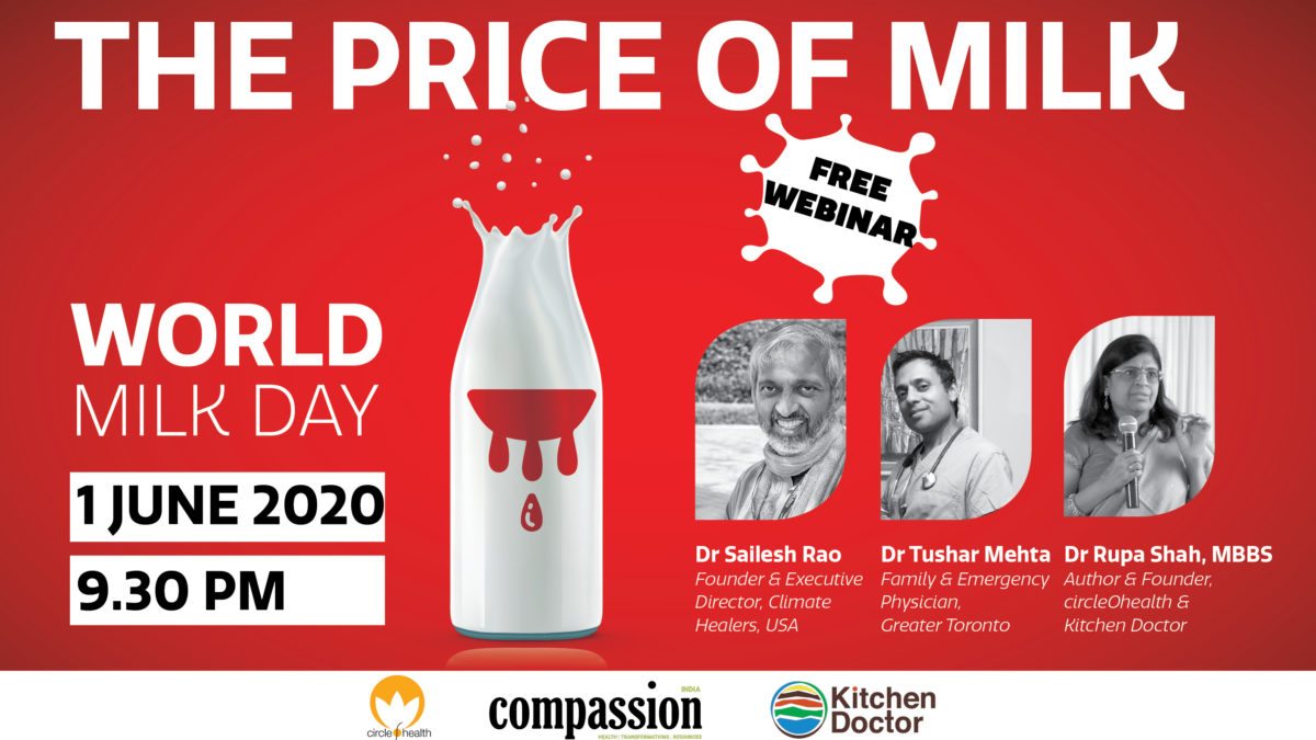 Webinar 'THE PRICE OF DAIRY' To Be Held On World Milk Day