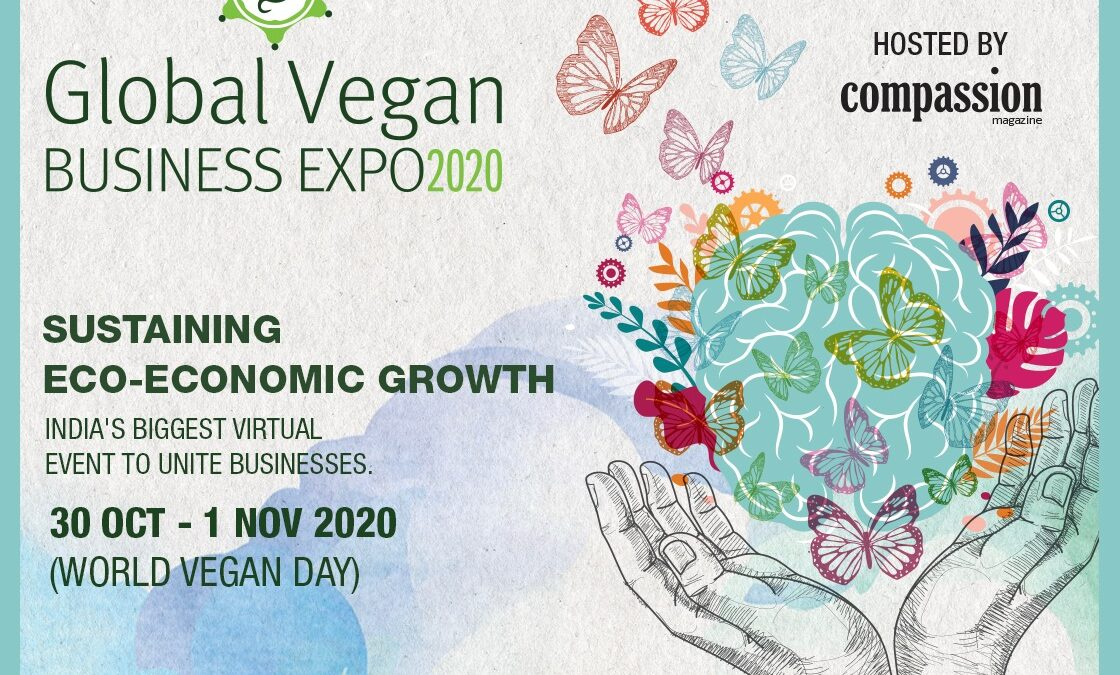 Countdown to India's first virtual Global Vegan Business Expo 2020